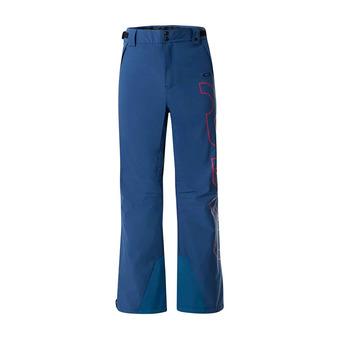 Oakley CEDAR RIDGE INSULA 2L 10K - Pantalón de esquí hombre poseidon