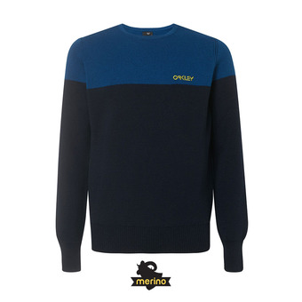 Oakley FS CREW TECH KNIT - Jersey hombre foggy blue
