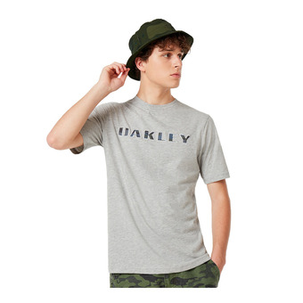 Oakley CAMO LOGO - T-shirt Uomo new granite hthr