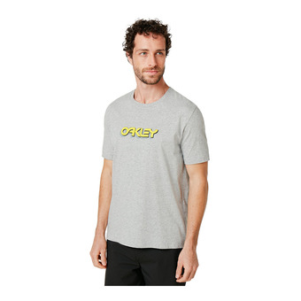 Oakley TRIDIMENSIONAL - Tee-shirt Homme new granite htht
