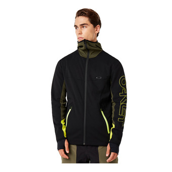 HOT SPRINGS THERMAL FLEECE FZ Homme Blackout
