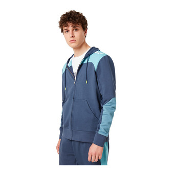 OAKLEY RACING TEAM FZ HOODIE Homme FOGGY BLUE