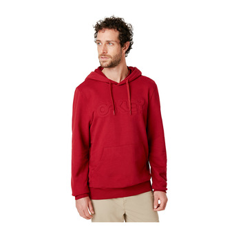 Oakley EMBOSSED GRAPHIC - Sudadera hombre rapsberry