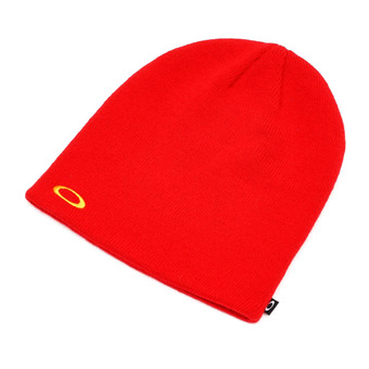 FINE KNIT BEANIE Unisexe HIGH RISK RED