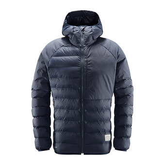 Dala Mimic Hood Men Dense Blue Homme