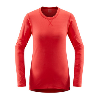 Haglofs L.I.M MID - Camiseta térmica mujer hibiscus red