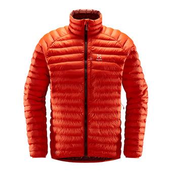 Essens Mimic Jacket Men Habanero/Maroon Red Homme