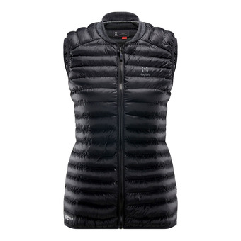 Essens Mimic Vest Women True Black/Magnetite Femme