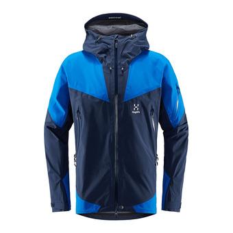 Haglofs ROC SPIRE - Jacket - Men's - tarn blue/storm blue