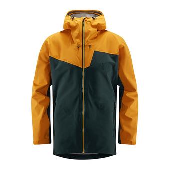 Haglofs STIPE - Veste ski Homme mineral/desert yellow