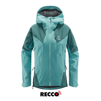 L.I.M Touring PROOF Jacket Women Glacier Green/Willow Green Femme