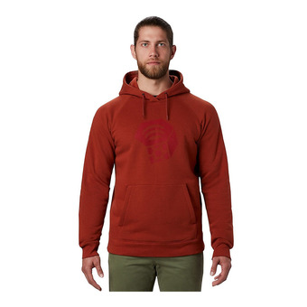 Hardwear™ Logo Pullover Hoody Homme Rusted