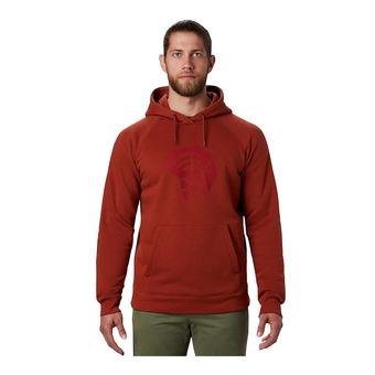 Mountain Hardwear LOGO HARDWEAR HOODY - Felpa Uomo rusted