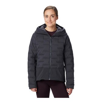 Mountain Hardwear SUPER DS CLIMB - Anorak mujer dark storm