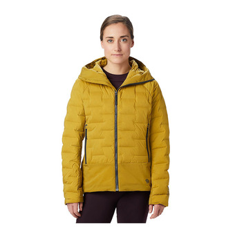 Mountain Hardwear SUPER DS HOODY - Anorak mujer dark bolt