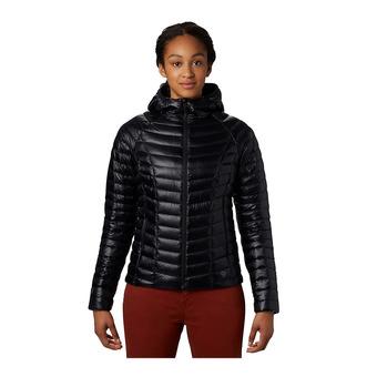 Mountain Hardwear GHOST WHISPERER 2 HOODY - Piumino Donna black