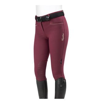 Equiline ASHLYN - Pantalon siliconé Femme burgundy