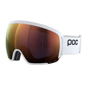 Poc ORB CLARITY - Gafas de esquí hydrogen white/spektris orange