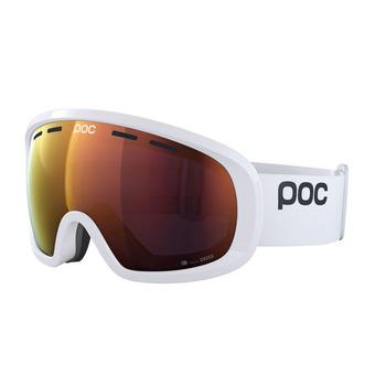 Poc FOVEA MID CLARITY - Gafas de esquí hydrogen white/spektris orange