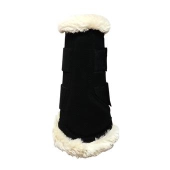 Guetre avant 'Air' mouton noir Unisexe noir