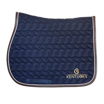 Kentucky 42506 - Tapis mixte bleu/blanc/brun