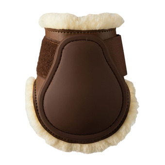Protège boulet Young horses Mouton choco Unisexe choco
