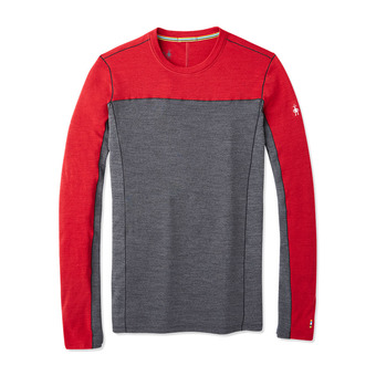 Smartwool MERINO SPORT 250 - Camiseta hombre chili pepper heather