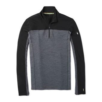 Smartwool MERINO SPORT 250 ZIP - Camiseta hombre black
