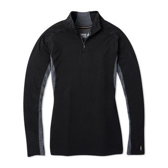 Smartwool MERINO SPORT 250 ZIP - Camiseta mujer black