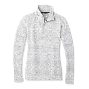 Smartwool MERINO 250 ZIP - Sous-couche Femme pattern ash madellion