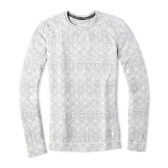Smartwool MERINO 250 - Camiseta térmica mujer pattern ash madellion