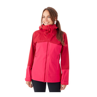 Mammut MASAO - Jacket - Women's - dragon fruit/scooter