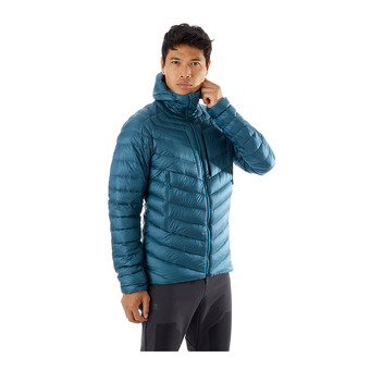 Mammut BROAD PEAK - Down Jacket - Men's - wing teal/sapphire