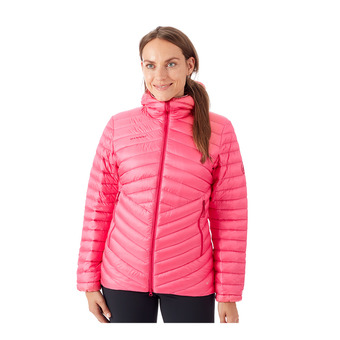 Mammut BROAD PEAK - Down Jacket - Women's - dragon fruit/scooter