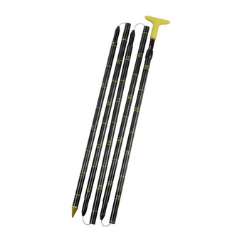 Salewa LIGHTNING CARBON 240 PLUS - Sonda black/yellow