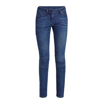 Salewa AGNER DENIM CO - Pantalón mujer jeans blue
