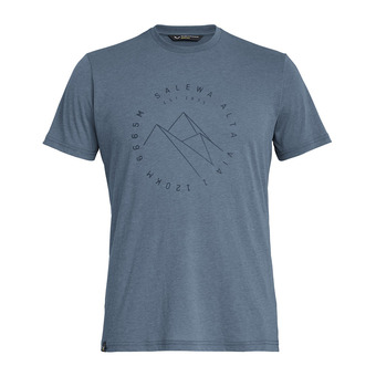 Salewa ALTA VIA DRI-REL - Camiseta hombre flint stone melange