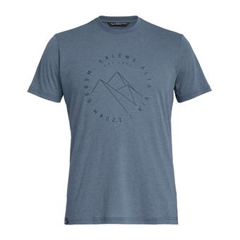 Salewa ALTA VIA DRI-REL - Tee-shirt Homme flint stone melange