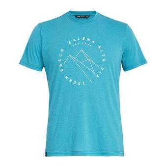 Salewa ALTA VIA DRI-REL - Camiseta hombre ocean melange