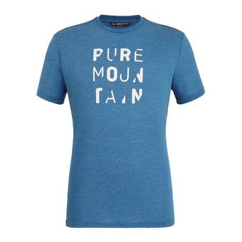 Salewa PURE M. DRI-REL - Tee-shirt Homme poseidon melange