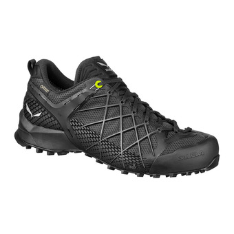 Salewa WILDFIRE GTX - Approach Shoes - Men's - black out/silver