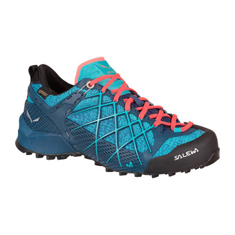 Salewa WILDFIRE GTX - Approach Shoes - Women's - poseidon/c