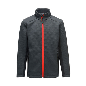 BOYS ENCORE FULL ZIP Junior BLACK