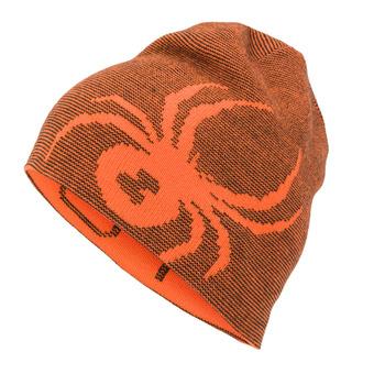 Spyder BUG - Bonnet réversible Garçon bryte orange