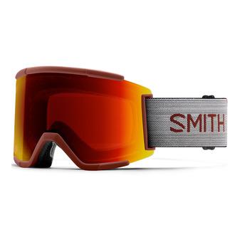 Smith SQUAD XL - Maschera da sci cp sn red mir /6w - cp storm yellow flash