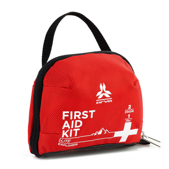 Arva LITE EXPLORER SMALL - First Aid Kit - red