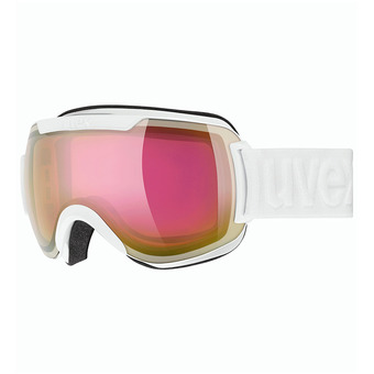 Uvex DOWNHILL 2000 FM - Masque ski white/mirror pink