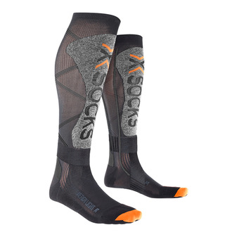 X-Socks ENERGIZER LIGHT 4.0 - Calze da sci nero/grigio