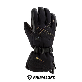 Therm-Ic ULTRA HEAT - Guantes calefactables mujer black + baterías