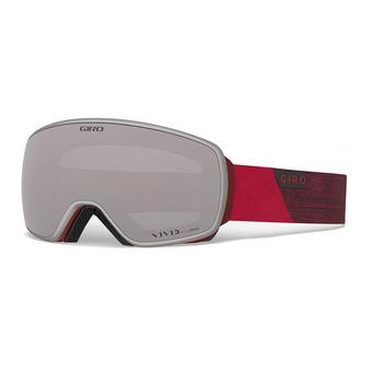 Giro AGENT - Maschera da sci red peak vivid onyx